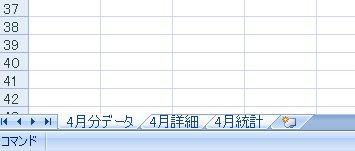マイクロソフトエクセルで複数シートをコピーする方法