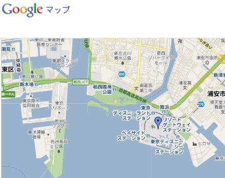 Google Mapに表示されるマーカーのふきだしを消す方法