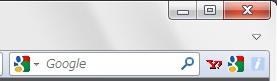 Firefoxでウェブサイト表示画面を狭くせずにブックマークツールバーを表示する方法