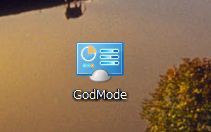 GodMode設定完了